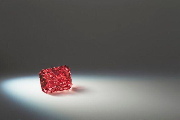 Rarissimo diamante rosso ritrovato in Australia, vale circa 10 milioni di