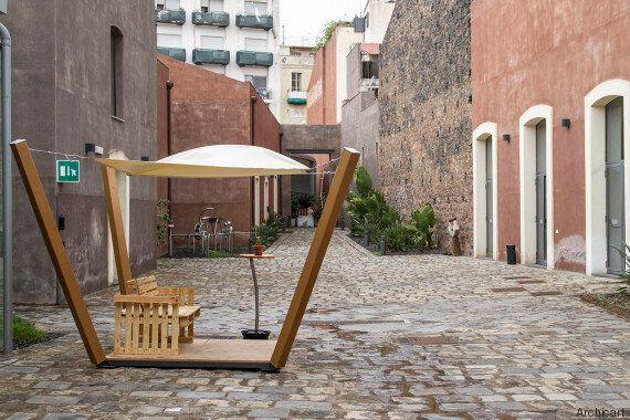 Questi 4 ragazzi catanesi stanno reinventando l'architettura col cartone. Senza muoversi dalla