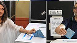 Candidati sindaco alle urne, tra sorrisi e appelli al
