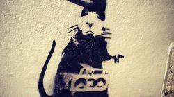 Quest'opera di Banksy vale 4 milioni di sterline ed è stata rovinata per sempre da un