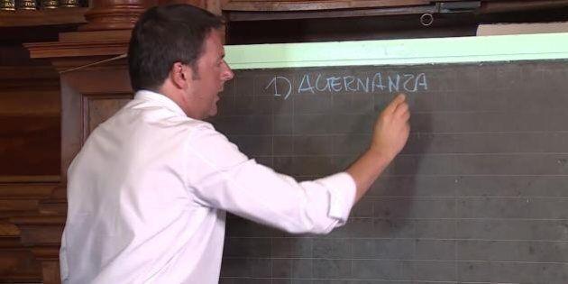 Per Renzi è il momento dell'esame di maturità, vent'anni