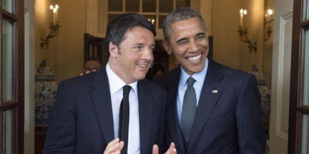 Matteo Renzi da Barack Obama il 18 ottobre. La Casa Bianca: