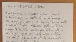 La lettera del papà di Mattia spiega perfettamente cosa significa
