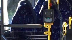 Un gruppo di estrema destra si è scagliato contro i sedili di un bus convinto fossero donne col