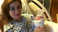 Dottoressa incinta aiuta una paziente in difficoltà a partorire. Dopo ha dato alla luce il suo bambino.
