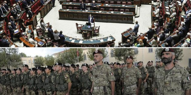 Libia, missione Ippocrate: subito voto in Parlamento, parà in partenza stasera. Costo 10 milioni di