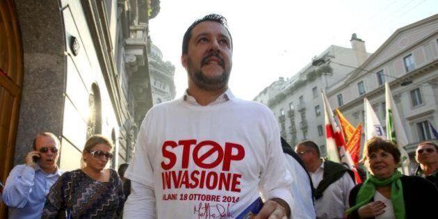 La Lega Nord (Salvini incluso) in Ue vota a favore di una risoluzione per dare più aiuti a migranti e...