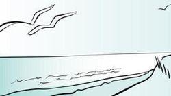Shiva colora il mare di