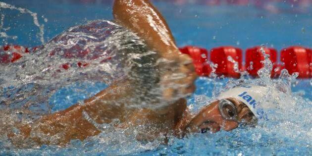 Francesco Bocciardo vince la medaglia d'oro nel nuoto stile libero alle Paralimpiadi di