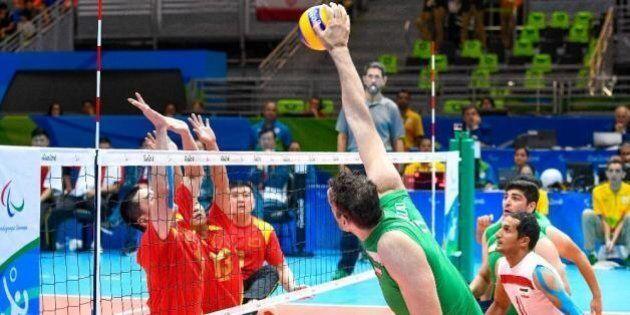 Mehrzad Morteza, il pallavolista paralimpico di 2.46 metri, idolo a Rio