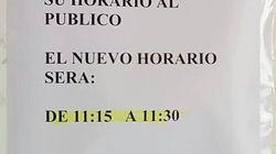 In Spagna c'è un ufficio postale che è aperto solo 15 minuti al giorno, ma c'è un