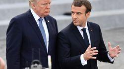 In caduta libera. Tracollo nei sondaggi per Trump e Macron a pochi mesi dalla loro elezione: popolarità mai così bassa per