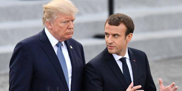 In caduta libera. Tracollo nei sondaggi per Trump e Macron a pochi mesi dalla loro