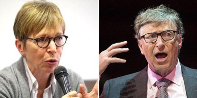 Milena Gabanelli contro Bill Gates: