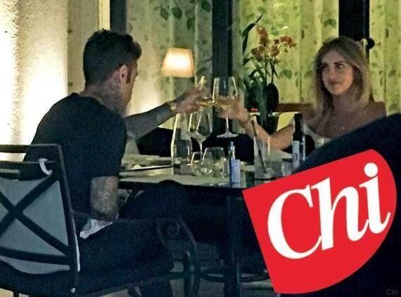 Chiara Ferragni è la nuova fidanzata di Fedez? Le foto esclusive della loro cena a Milano sul settimanale
