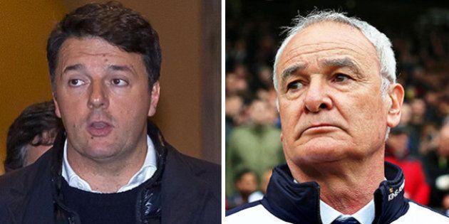 Matteo Renzi si paragona a Claudio Ranieri: