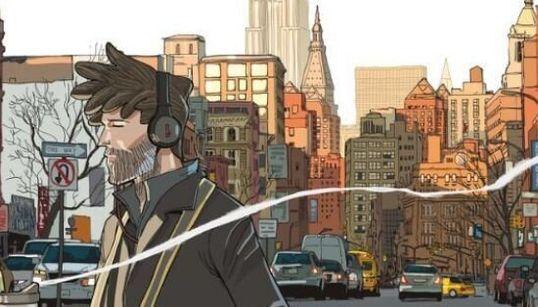 Guardare la graphic novel di Bevilacqua vi farà sentite a New York (per la prima