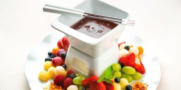 Frutta e cioccolato, il