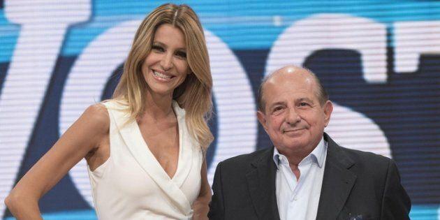 Giancarlo Magalli e Adriana Volpe, durante la presentazione della nuova edizione della trasmissione televisiva...