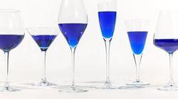 Il vino blu ora esiste davvero. Ed è
