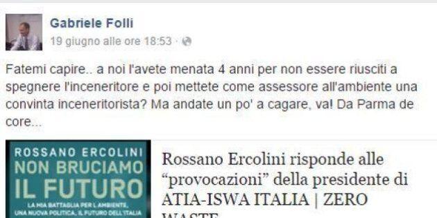 Elezione Virginia Raggi, Parma di nuovo contro Roma. Critiche all'assessore all'ambiente Paola Muraro:...