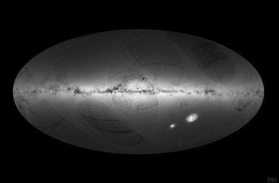 Disegnata la prima mappa della Via Lattea: è più grande di quanto pensiamo, ma potrebbe