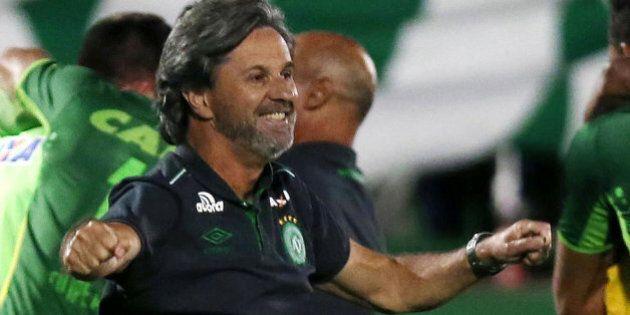 L'allenatore del Chapecoense dopo la qualificazione alla finale: