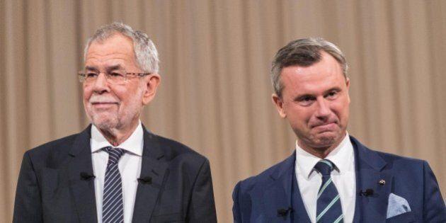 Presidenziali Austria, altro voto del 4 dicembre che preoccupa l'Ue. Van Der Bellen sfida Hofer,