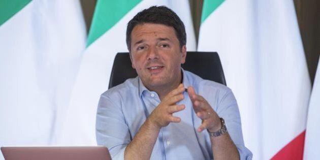 Matteo Renzi su Facebook live smonta le