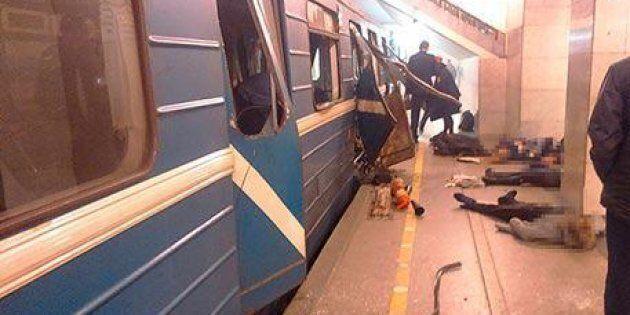 Esplosione alla metro di San Pietroburgo, 14 morti e decine di morti. Due