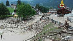 Bomba d'acqua a Cortina. Una donna muore sotto una colata di detriti, travolta con la sua