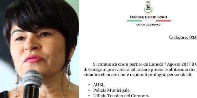 La sindaca Pd di Codigoro Alice Zanardi vuole alzare le tasse ai cittadini che ospitano migranti. Poi...