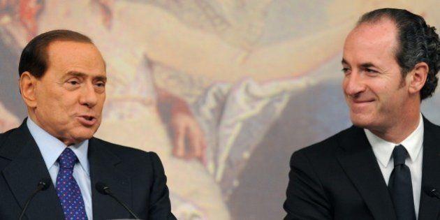 Silvio Berlusconi candida Luca Zaia leader del centrodestra. Ma il governatore del Veneto non