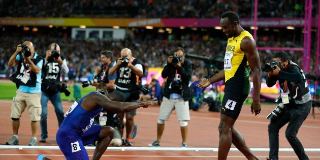 Usain Bolt sconfitto ai 100 metri, ma la reazione del pubblico (e di Gatlin) confermano che è lui il