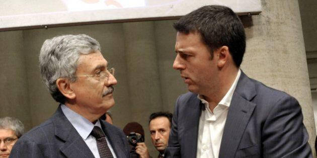 Massimo D'Alema contro Matteo Renzi:
