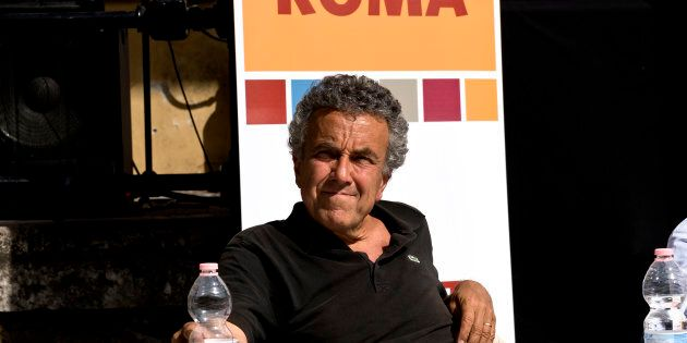 ROME, ITALY MAY 26: The candidate for mayor of Rome, Roberto Giachetti (Democratic Party) presents its...