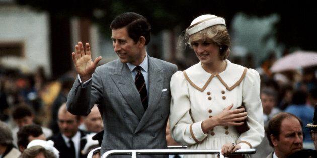 TORONTO, ON - Prince Charles and Diana Princess of Wales visit to Canada, June 1983 (Boris Spremo/Toronto...