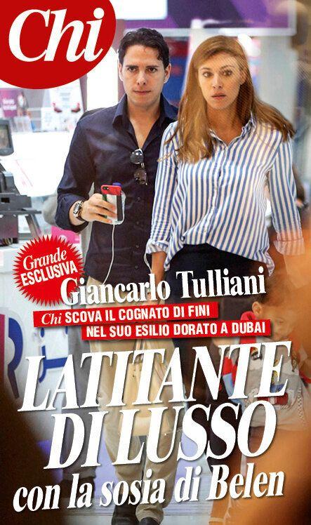 Giancarlo Tulliani in esilio dorato a Dubai. Il reportage del settimanale Chi sulla latitanza del cognato...