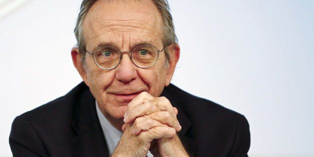 Il ministro dell'Economia Pier Carlo