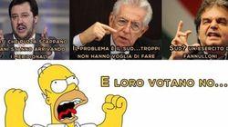 Le pagine Fb su Homer o sull'amore, rianimate da fake, che fanno propaganda per il