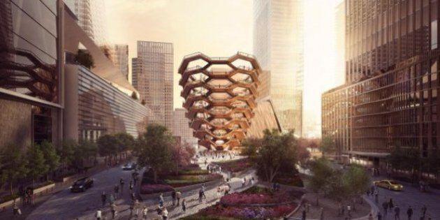 Svelato il progetto di Vessel, la futura torre di New York per le passeggiate