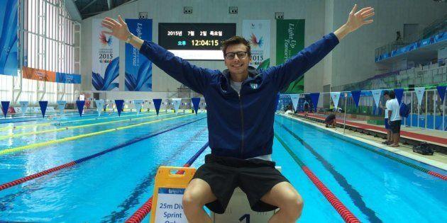 Morto il nuotatore Mattia Dall'Aglio: si stava allenando in palestra quando è stramazzato al