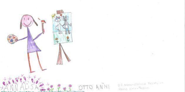I desideri nei disegni dei piccoli malati oncologici, l'iniziativa di Fondazione Veronesi con l'Associazione...