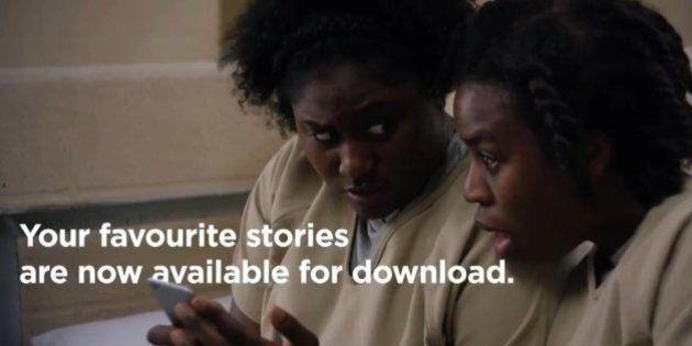 Netflix, finalmente arriva il download per guardare le serie tv anche