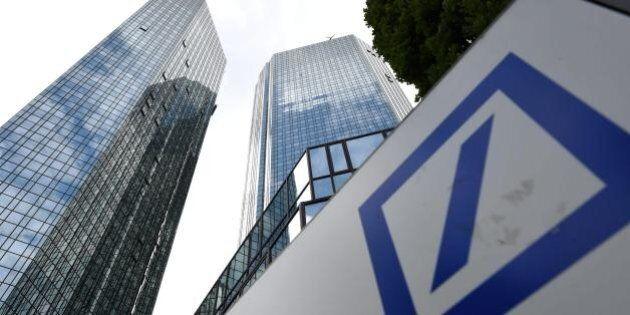 Deutsche Bank crolla in Borsa dopo la maxi multa da 14 miliardi chiesta dagli