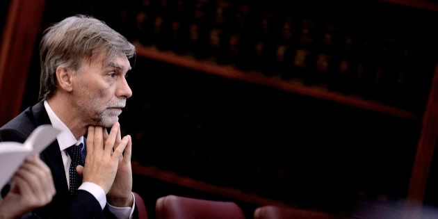 ROME, ITALY - JULY 14: Minister Graziano Delrio participates in the Anti-Corruption Authority's Annual...