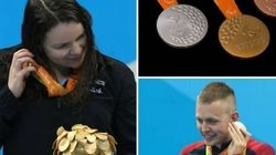 La bellissima ragione per cui le medaglie alle Paralimpiadi suonano quando vengono