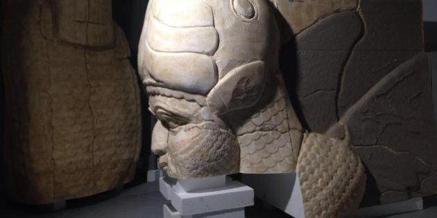 Palmira in 3D: i reperti ricostruiti e stampati per il