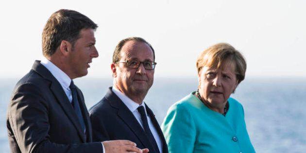 Ue, a Bratislava si frantuma il direttorio Renzi, Merkel, Hollande. Ma il premier italiano ha benzina...