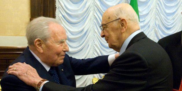 Giorgio Napolitano ricorda Carlo Azeglio Ciampi: